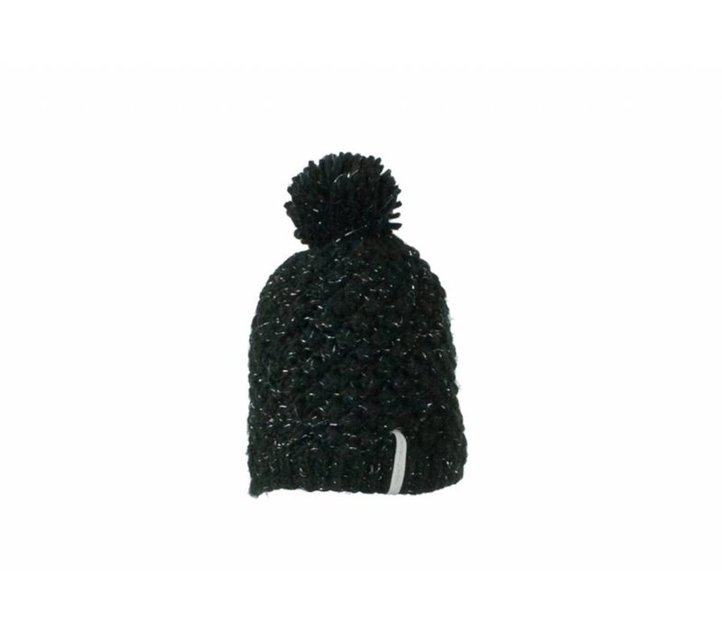 Obermeyer Womens Sunday Knit Hat -15009 Black  (15/16)
