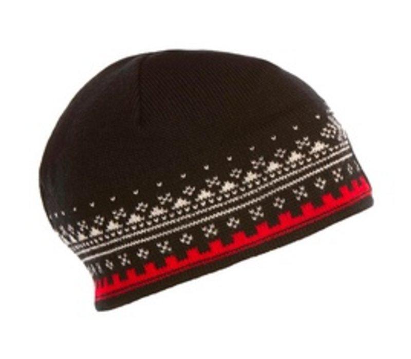 Dale Of Norway Unisex Anniversary Hat Black -F (15/16)