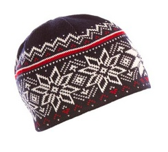 DALE OF NORWAY Dale Of Norway Unisex Holmenkollen Hat Navy/Offwhite -C (15/16)