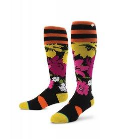 Instance Wo Fleur Sock -Coral (15/16)