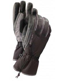 Hestra Czone Leather Glove - Black/Grey (15/16)