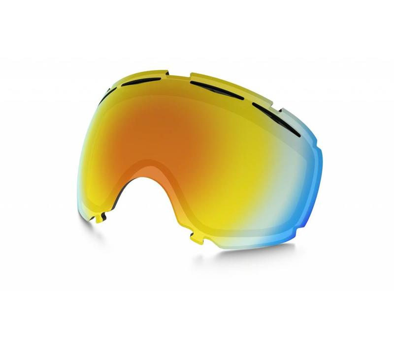 OAKLEY Canopy Replacement Lens Fire Iridium