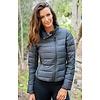 ALP-N-ROCK Alp-N-Rock Ladies The Davos :Jacket - Heather Black (15/16)