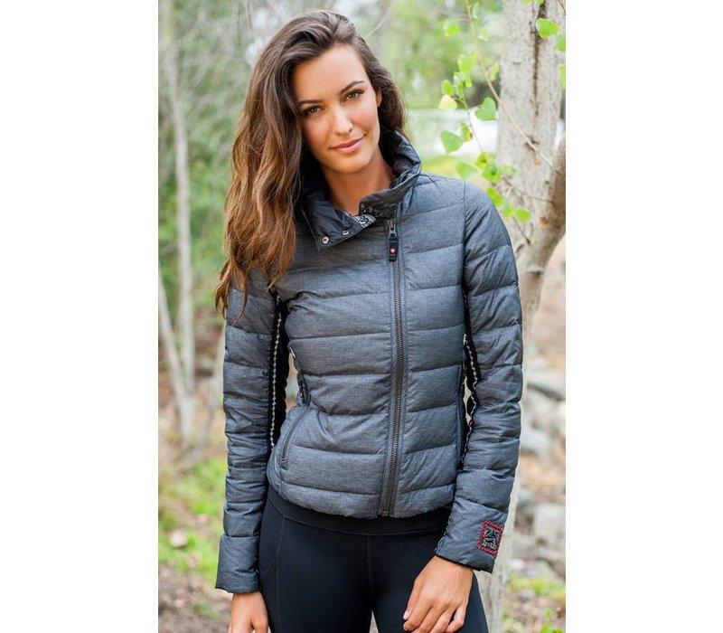 Alp-N-Rock Ladies The Davos :Jacket - Heather Black (15/16)