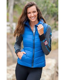 Alp-N-Rock Ladies The Apres :Vest -True Blue (15/16)