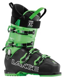 Lange Mens Xc 90 Ski Boot (Black-Green) - (16/17)