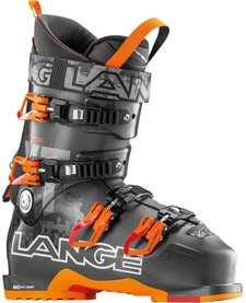 Lange Mens Xt 100 Ski Boot Anthracite-Orange - (16/17)