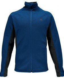 Spyder Mens Constant Full Zip Mid Wt Core Sweater Cob/Pol -498 (16/17)
