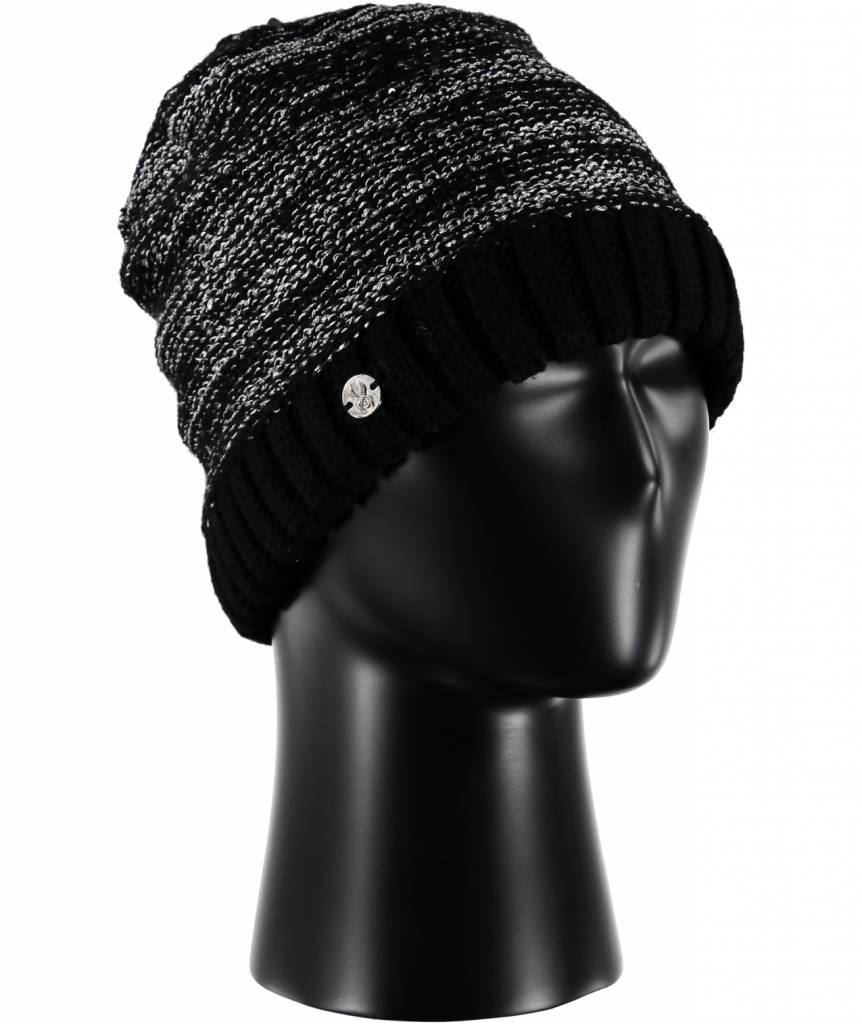 2aded11437a Spyder Womens Shine Hat Black -001 (16 17) - Gates and Boards