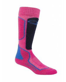 Icebreaker Wmns Ski+ Medium Otc Sock Pop Pink/Admiral/Pelorus -601 (16/17)