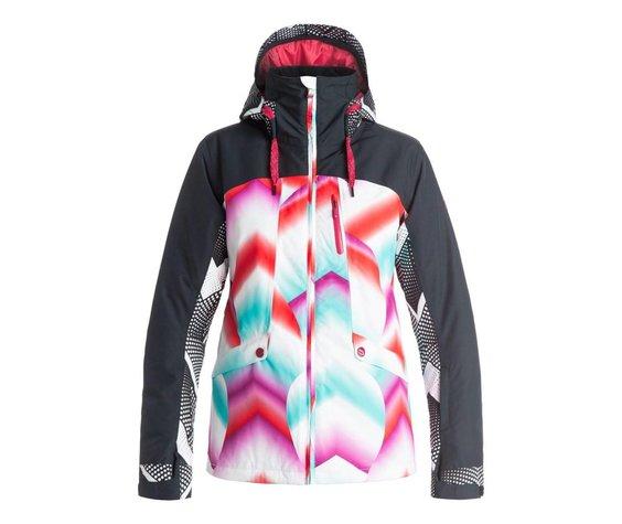 ROXY Roxy Womens Wild Life Jacket Pop Snow Ocean Spray -Bgd6 (16/17)