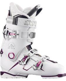 Salomon Womens Qst Pro 80 W Ski Boot White-Burg - (17/18)