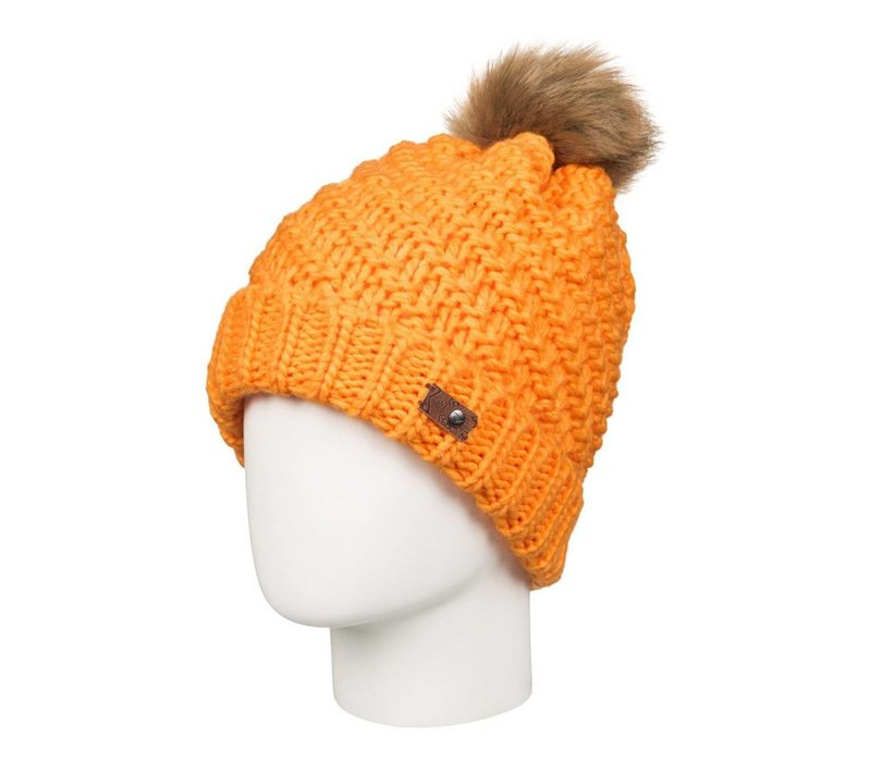 Roxy Womens Blizzard Beanie Blazing Yellow -Nhp0 (16/17)