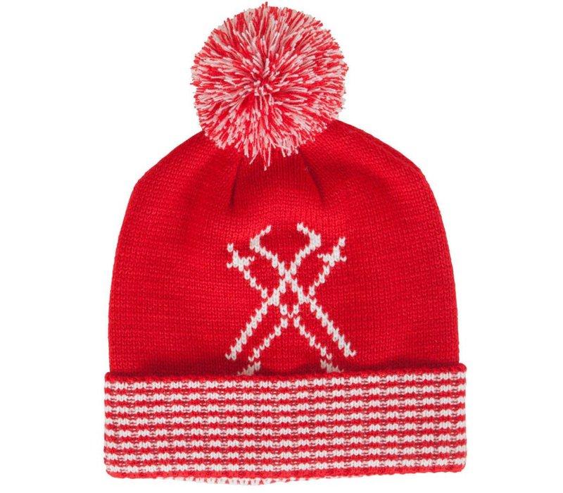 Neve Womens Peak Chic Hat Red -600 (16/17) O/S