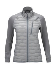 Peak Performance Womens Helium Hybrid Jacket Silver -01Z (16/17)