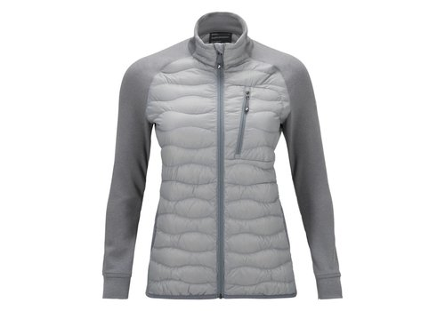 PEAK PERFORMANCE Peak Performance Womens Helium Hybrid Jacket Silver -01Z (16/17)