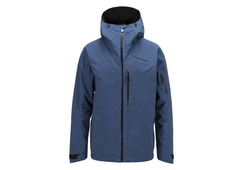 PEAK PERFORMANCE Peak Performance Mens Heli 2L Gravity Jacket Blue -20L (16/17)