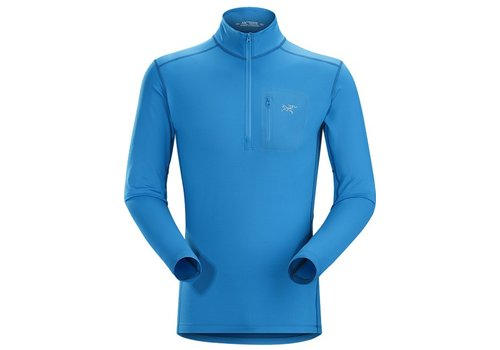 ARC'TERYX Arc'Teryx Mens Rho Lt Zip Neck Top Macaw - (16/17)