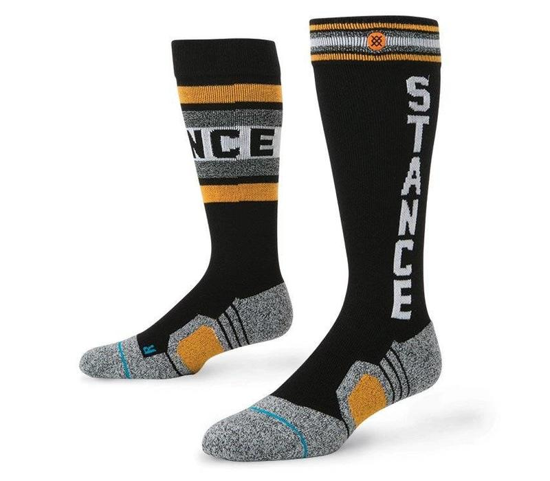 Instance Mens Meyers Sock Black - (16/17)