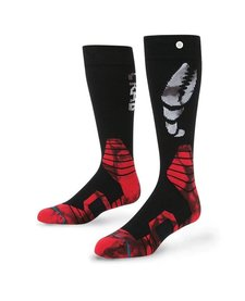 Instance Mens Pinch Sock Black - (16/17)