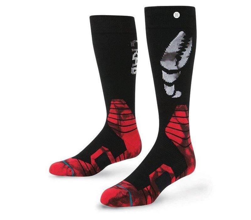 Instance Mens Pinch Sock Black - (16/17)