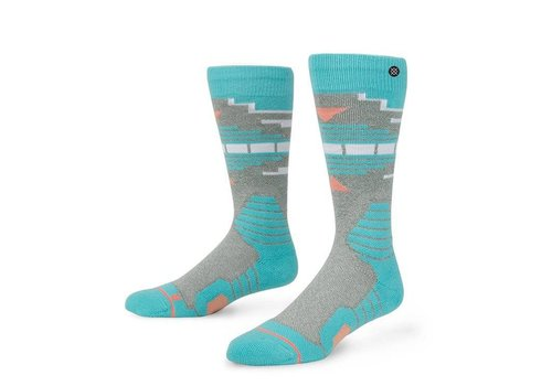 INSTANCE Instance Womens Fox Creek Sock Grey - (16/17)