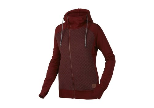 OAKLEY Oakley Womens Sundown Hoodie Fired Brick -88B (16/17)
