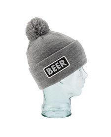 Coal The Vice Beanie Heather Grey (Beer) - (16/17) OSFM