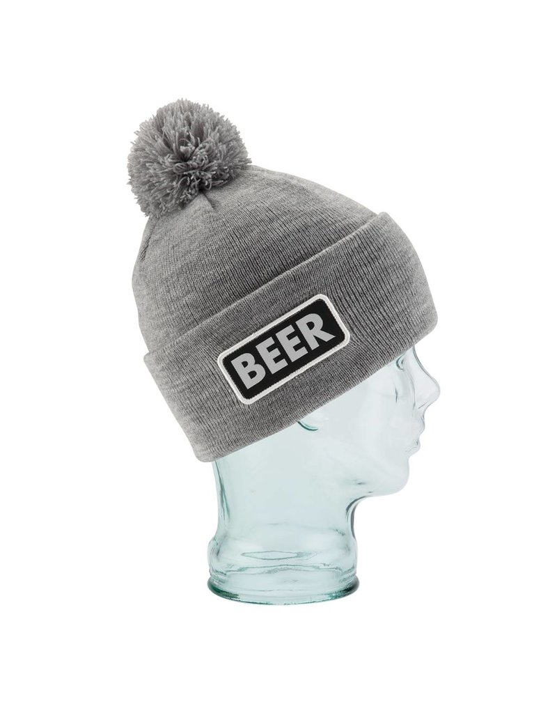 COAL Coal The Vice Beanie Heather Grey (Beer) - (16/17) OSFM
