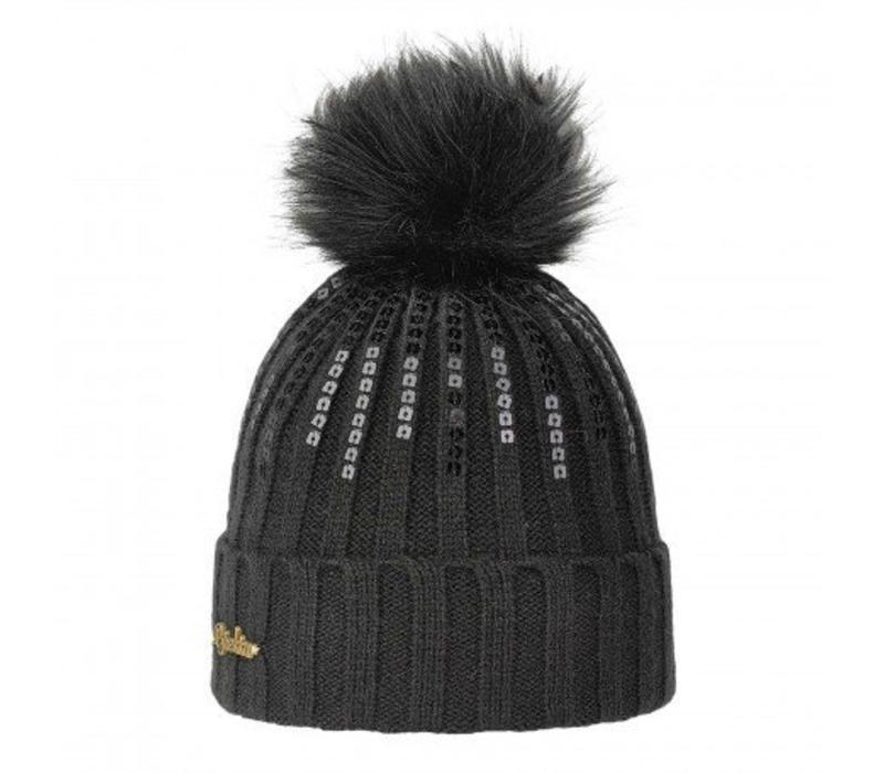 Brekka Rill Eco Pon Hat -Blk (16/17) O/S