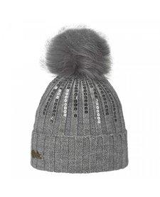Brekka Rill Eco Pon Hat -Gry (16/17) O/S