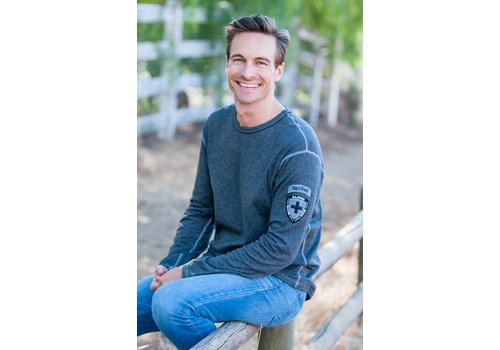 ALP-N-ROCK Alp-N-Rock Alpine Ale L/S Crew - Heather Black (16/17)