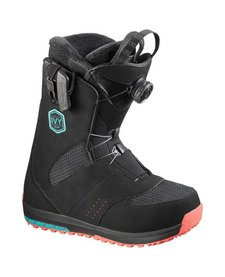 Salomon Ivy Boa SJ Black/Teal Blue/Black - (16/17)
