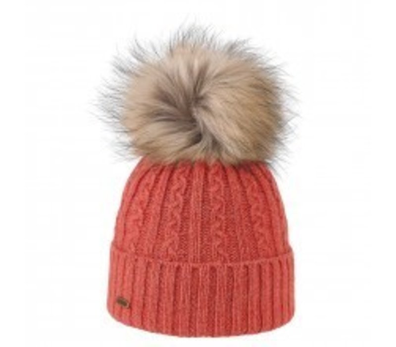 Brekka Pistacchio Pon Hat -Cor (16/17) O/S