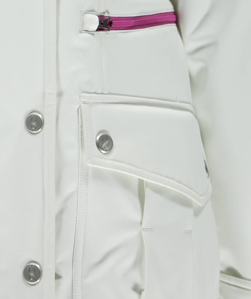 SPYDER Spyder Womens Arctyc Jacket Wht/Slv/Wht -100 (16/17)