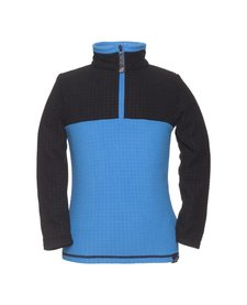 Jupa Boys Yaroslav 1/4 Zip 1St Layer Top Deep River Blue -Bl085 (16/17)