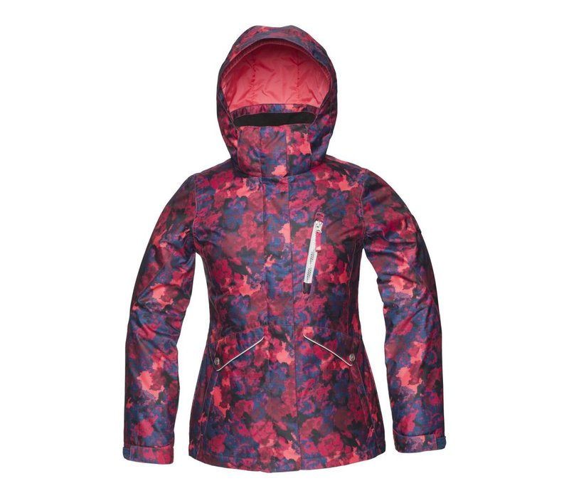 Jupa Girls Ella Jacket Cherry Pudding Print -Rd003-A9 (16/17)