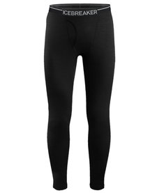 Icebreaker Men's Oasis Leggings w Fly 200 Black-001 (16/17)