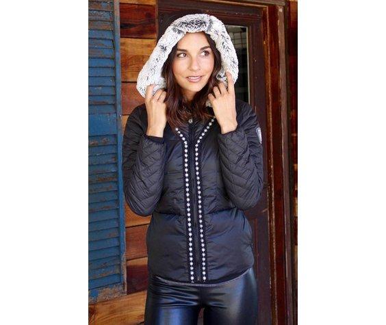 ALP-N-ROCK Alp-N-Rock Neve :Fitted Jacket w/ Fleece Hood - Black (16/17)