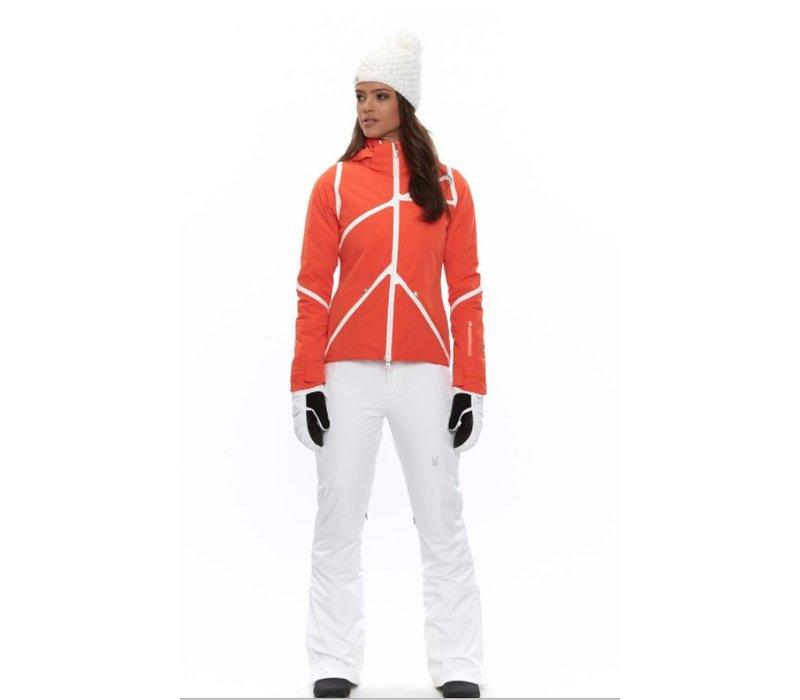 Spyder Womens Radiant Jacket Brs/Wht/Brs -626 (16/17)