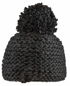 Bula Womens Crochet Beanie Black -Black (16/17) O/S