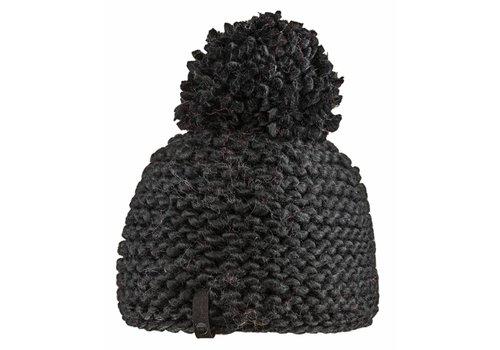 BULA Bula Womens Crochet Beanie Black -Black (16/17) O/S