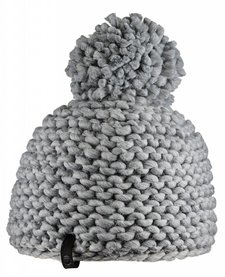 Bula Womens Crochet Beanie H- Medium Grey -H-Medg (16/17) O/S