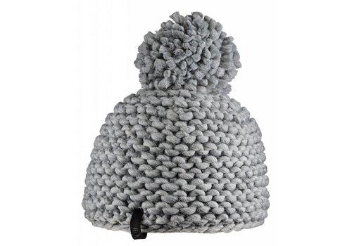 BULA Bula Womens Crochet Beanie H- Medium Grey -H-Medg (16/17) O/S