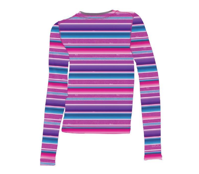 Bula Kids Printed Crew Mexican Pink -Mexipin (17/18)