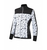 NEWLAND Newland Womens Chréa Full Zip With Pockets Sweater Black/White -108 (17/18)