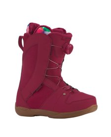 Ride Womens Sage Maroon Snowboard Boot - (17/18)