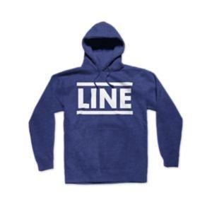 LINE Line Mens Sender Pull Over Heather Blue - (17/18)