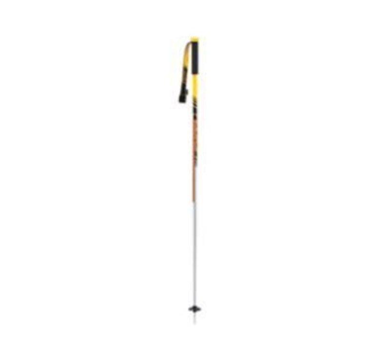 Line Tac Yellow/Silver Ski Pole - (17/18)
