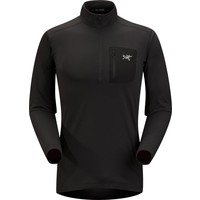 Arc'Teryx Mens Rho Lt Zip Neck Black - (17/18)